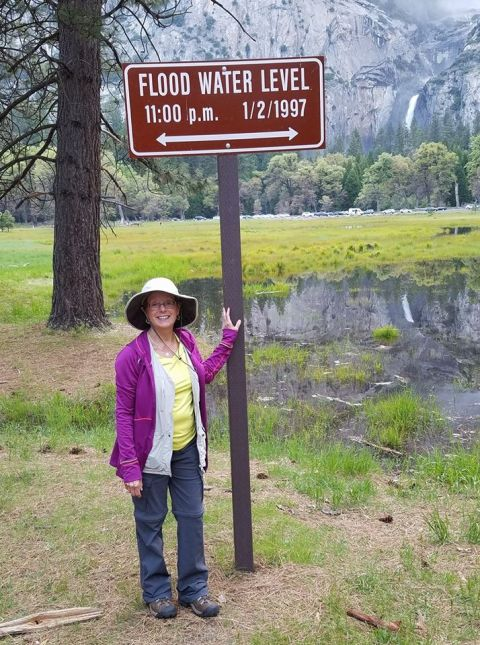 Roberta at Yosemite phone photo 5-4-17