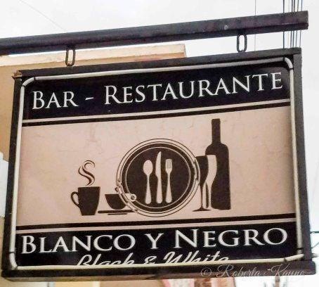 1-8-18 Blanco y Negro Restaurant 20180108_174947